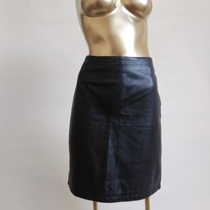 90s Vintage Wilson's Leather Skirt